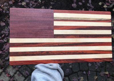 USA Flag Custom Woodwork